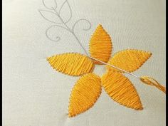 Flower design for Stitch Hand Embroidery Flower Designs, Embroidery Stitches, Embroidery Ideas, Beautiful Flower Designs, Beautiful Flowers, Punch Needle, Needlework, Cross Stitch, Make It Yourself