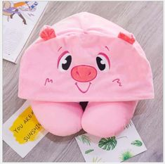 Cute Animal Hooded Neck Pillow – Airplane Travel Nap Cushion – how to use a neck pillow N Animals, Cute Animals, Airplane Travel, Neck Pillow, Cushions, Pillows, Hoods, Coin Purse, Bags
