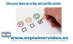 Cómo ganar dinero con un blog #GanarDineroConTuBlog