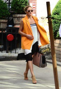 Best Dressed: Olivia Palermo, Dakota Johnson, and More - 10 Best Dressed - Fashion