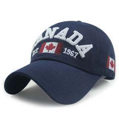 ca09c7ecd12 Baseball Cap - Flag Of Canada Wash Baseball Cap