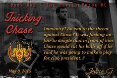 Tricking Chase (Devils Pride MC, Book 1)