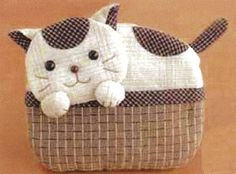 Etui mouchoir  porch cat