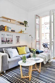 Cute space living room