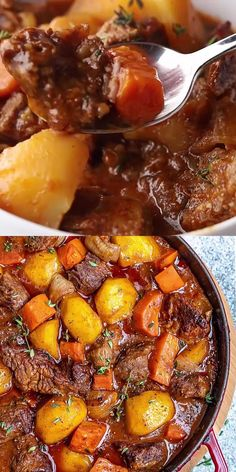 Homemade Beef Stew, Best Beef Stew Recipe, Easy Beef Stew, Stew Meat Recipes, Beef Stew Meat, Homemade Food, Cooking Recipes, Healthy Recipes, Healthy Meal Prep