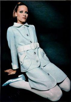 Emanuel Ungaro Outfit - 1968 L'Officiel De La Mode - 557-558