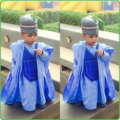 African fashion for boys Baby African Clothes, African Dresses For Kids, African Babies, African Children, African Women, African Wedding Attire, African Attire, African Wear, African Style