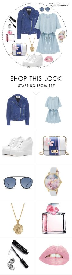 """""""25.05.2017"""" by olgacontrast on Polyvore featuring мода, Acne Studios, Ray-Ban, Ted Baker, 2028, Ralph Lauren и Bobbi Brown Cosmetics"""