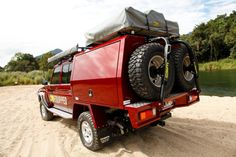 ute tray drawers landcruiser - Google Search Toyota Camper, Toyota 4x4, Off Road Camping, Truck Camping, Ute Canopy, Ute Trays, Custom Canopy, Camper Trailers, Campers