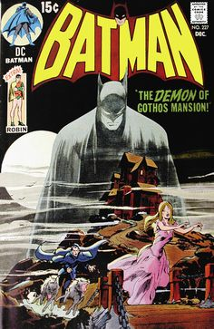Batman #227 (1970) by Neal Adams, in homage to Detective Comics #31 (1939) by Bob Kane