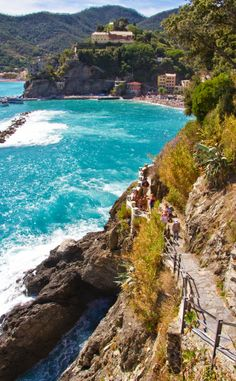 Beaches of Monterosso al Mare, Cinque Terre Italy, I'd like to go someday...
