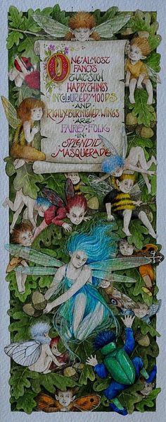 Spendid Masquerade Inpired by John Clare by Debby Faulkner-Stevens