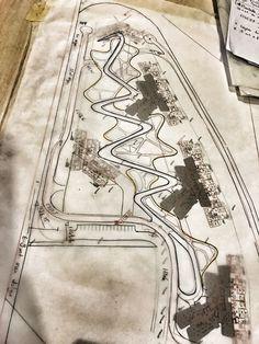 First line- landscape design drawing Landscape Sketch, Park Landscape, Landscape Design Plans, Landscape Drawings, Urban Landscape, Water Architecture, Architecture Graphics, Architecture Drawings, Collage Illustration