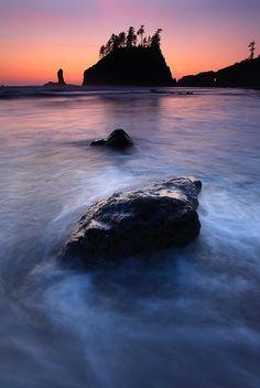 Refresh : Second Beach - Olympic National Park - La Push, Washington