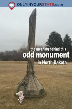 The Story Behind This North Dakota Monument Is Bizarre But True North Dakota, North America, 50 States, United States, Canada National Parks, Theodore Roosevelt, Roadside Attractions, Road Trippin