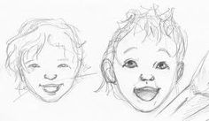 sketches of children - Google Search