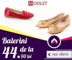Oferta Balerini - ModLet.ro - Incaltaminte Femei Online Cauti Balerini? Preturi incepand de la 44.90 Lei, Zeci de Promotii