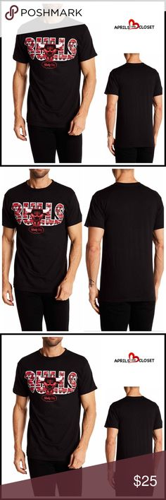 """⭐⭐ CHICAGO BULLS TEE 💟NEW WITH TAGS💟 RETAIL PRICE: $35  CHICAGO BULLS TEE  * Crew neck   * Short sleeves  * Front graphic & Aztec print detail   * Modern fit  * Stretch-to-fit style  * Approx 30"""" long   FABRIC-100% cotton Color- BLACK, RED, WHITE Item# #  🚫No Trades🚫 ✅ Offers Considered*✅ *Please use the blue 'offer' button to submit an offer Mighty Fine Shirts Tees - Short Sleeve"""