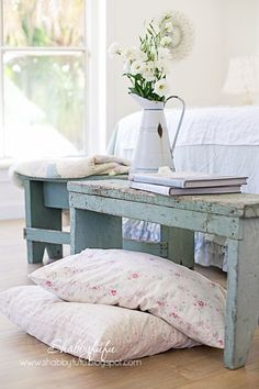 A Dose of Shabby Chic Bliss for Your Weekend! Thefrenchinspiredroom.com