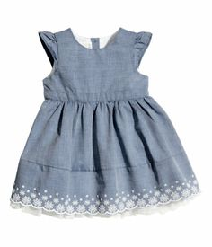 H&M Dress with Tulle Ruffle $9.95
