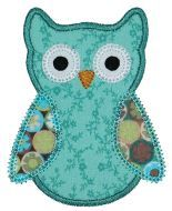Owl sweet applique