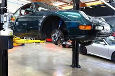 Basem Wasef tells us what he did to his 1997 Porsche 993 and why he chose to modify a perfectly stock Carrera coupe. Porsche 911 Models, Porsche 993, Green Metallic Paint, Project S, Summer Street, Racing, Gallery, Car, Image