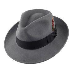 Indiana Jones Hats Promotional Fedora - Brown from Village Hats. Indiana Jones Hats Promotional Fedora - Brown from Village Hats. Swatch, Style Vintage Hommes, Vintage Style, 1940s Style, 1950s Mens Hats, Mens Clothing Uk, Men's Clothing, Jaxon Hats, Vintage Men