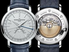 The Vacheron Constantin Traditionnelle Complete Calendar Collection Excellence Platine watch offers a cumbersome name and some of the key functionality of the previous perpetual models by Vacheron Constantin. #menluxurywatches