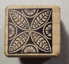 Deco Tile #1 Rubber Stamp Magenta #14101D #Magenta #Background