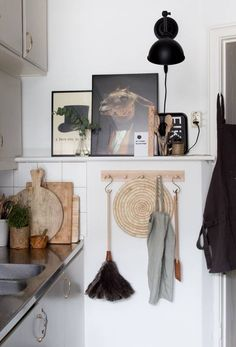 14 Reasons to Hang Artwork in Your Kitchen: Nordic Niche