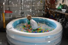 Play At Home Mom LLC: Balls, Bubbles, and an Indoor Pool
