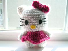 FREE HELLO KITTY CROCHET PATTERNS - Crochet — Learn How to Crochet