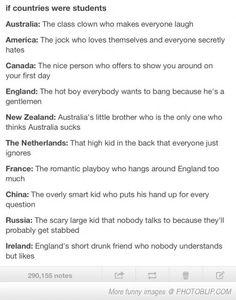 HAHA TRUE!>>> my favorite country is Ireland!!!