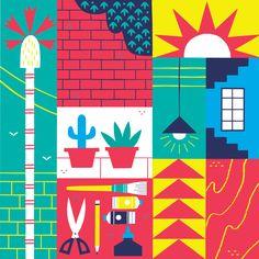 Arts District - Alexander Vidal Illustration