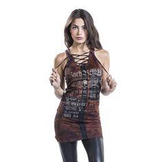 Rock Rebel by EMP Kort klänning »Eyelet Lace Up Dress« | Köp i EMP | Mer Basplagg Korta klänningar finns online ✓ Oslagbara priser!