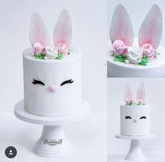 Rabbit Cake, Holiday Cakes, Pretty Cakes, Cakes And More, Easter, Baby Shower, Birthday, Kids, Handmade