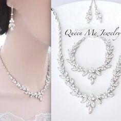 Prom Jewelry Set,Pink Bridal Necklace Earrings Peach Blush Crystal Backdrop Necklace Set Sapphire V Shape Bridal Jewelry Set Champagne
