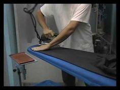 Planchado profesional de un pantalón