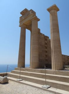 Temple of Athens Lindia Rhodes
