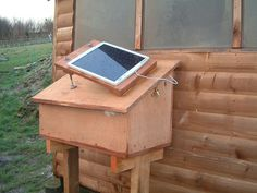 DIY solar for poultry houses - Article explaining solar power with recommendations for hen houses.