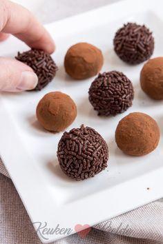 Melkchocoladetruffels - Keuken♥Liefde Sweet Cookies, Sweet Treats, Macarons, Mumbai Street Food, Chocolate Photos, Chocolate Delight, My Best Recipe, High Tea, Sweet Tooth