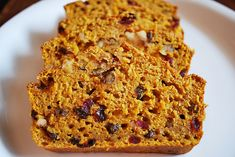 Pumpkin, nut, and fruit bread. by fakeginger, via Flickr