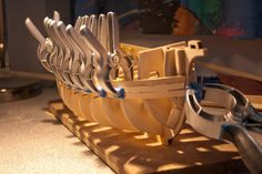 First layer of planks Rc Boot, Model Ships, Santa Maria, Planks, Carpenter, Concept Ships, Planking, Boards, Virgin Mary