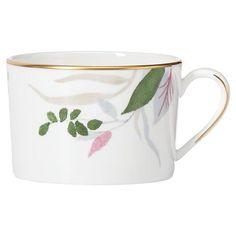 Irish Coffee Mugs, Pink Leaves, Stoneware Mugs, Mugs Set, Fine China, Leaf Design, Tree Branches, Gold Bands, Designing Women