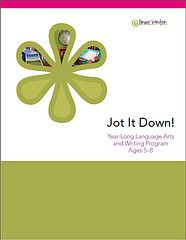 Jot It Down! The Brand New Writing Product for kids between 5-8 (early readers and writers). (Brave Writer)