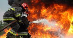 Ένα στρέμμα έκαψε η φωτιά που ξέσπασε το απόγευμα της Δευτέρας στο χωριό Κάλφα Αχαϊας