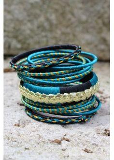 Bracelets YAAR bleus