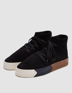 bdc7ae84654 Adidas x Alexander Wang   AW Skate Mid in Black