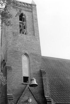 Tower Bells being added to St. Johns Episcopal Church in Tallahassee, Florida (1991) - Addition of two bells to the tower making a total of 14.