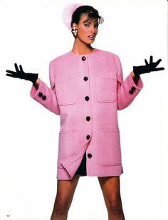 Early Linda. Ph. Patrick Demarchelier/Vogue Italia Sept 1990.